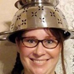 A woman who belongs to the Church of the Flying Spaghetti Monster is allowed to wear a pasta strainer on her head in her driver's license photo due to religious beliefs, the AP reports.