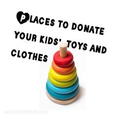 Making room for new toys and clothes? There are kids in your community at places like family shelters that could use the donations. Here's a list of ideas on places to donate!