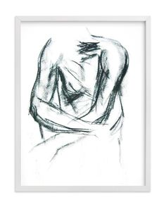 """""""Embrace"""" - Art Print by R studio in beautiful frame options and a variety of sizes."""