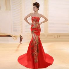 17 best Chinese Wedding Dresses images on Pinterest | Chinese ...