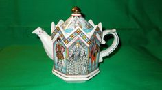 One 1 Elizabeth I Pattern Bone China Tea Pot from by Olympiced