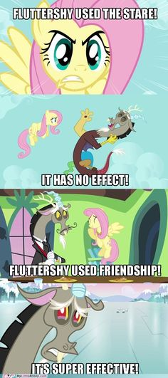 "In the real world, we have words to describe people who use relationships to manipulate and influence others. ONE OF THEM IS ""VINDICTIVE."" (I'm calling you out, Fluttershy)"
