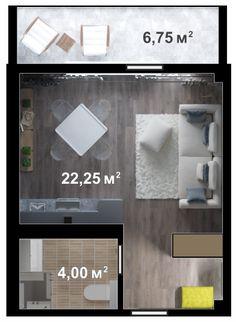 Однокомнатная квартира свободной планировки 33м  Цена квартиры: 2 332 440 руб. 3 этаж  Купить квартиру в Ялте от застройщика http://eco-dom.org/catalog/yalta  ЭкоДом  Однокомнатная квартира свободной планировки 33м http://eco-dom.org/catalog/kvartira/263