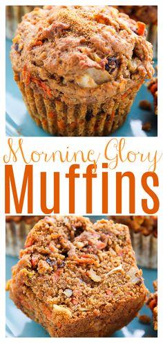 Coconut Muffins, Vegan Muffins, Healthy Muffins, Vegan Breakfast Muffins, Healthy Breakfast Breads, Breakfast Recipes, Breakfast Cookie Recipe, Carrot Muffins, Baking Muffins
