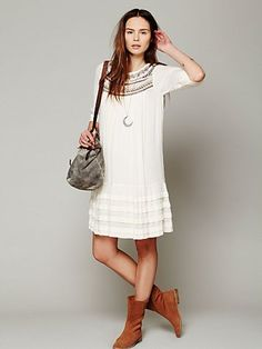 FP Ribbons And Rows Dress $148 (I hated Free People until I moved to California. UGH.)