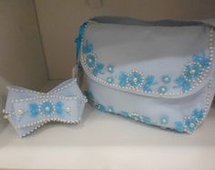conjunto de bolsa infantil blu