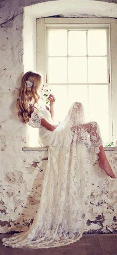 lace beach wedding dress// In need of a detox? 10% off using our discount code 'Pin10' at www.ThinTea.com.au