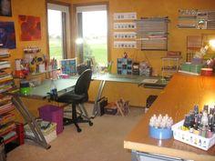 art studio design ideas | Art Studio Just Mary Designs