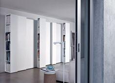 furnitecture, blio, bookcases woontcom Kristalia-Blio-