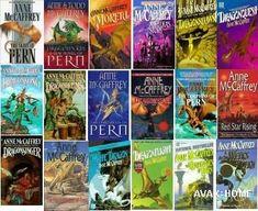 dragonriders of pern  | Dragonriders of Pern Series & Acorna Series - Author Anne McCaffrey
