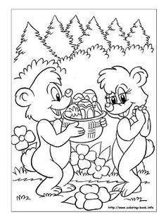ClippedOnIssuu From Easter Activities Book Part III Colouring Pages