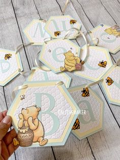 Winnie The Pooh Themes, Winnie The Pooh Birthday, Baby Birthday, Baby Shower Oso, Baby Shower Cakes, Baby Decor, Baby Shower Decorations, Personalized Banners, Babyshower