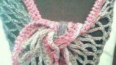 PATTERN: Wool shawl Crochet wool shrug Grey by Thecatandtheyarn