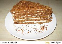 Medovník z Moravy recept - TopRecepty.cz Sweet Life, Sweet Recipes, Tiramisu, Baking, Ethnic Recipes, Food Ideas, Dolce Vita, Bakken, Tiramisu Cake