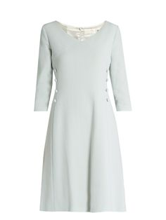 Goat Darling V-neck wool-crepe dress