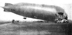 R-34_El naufragio del R34 en Howden en enero de 1921