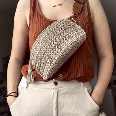 Bag Crochet, Crochet Diy, Crochet Basket Pattern, Crochet Handbags, Crochet Purses, Crochet Crafts, Crochet Stitches, Crochet Projects, Crochet Bag Patterns