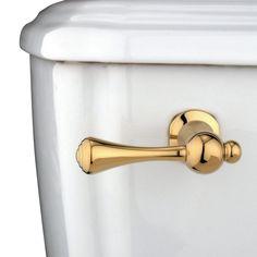 Kingston Brass KTBL2 Buckingham Toilet Tank Lever, Polished Brass - Price: $69.95 & FREE Shipping over $99     #kingstonbrass