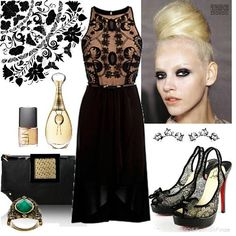 lace dress outfit - Google Search