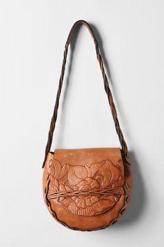 Patricia Nash Leather Large Flap Shoulder Bag