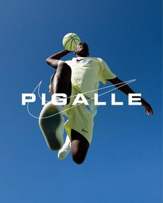 Pigalle x Nike clothing & basketball courts - Fonts In Use Basketball Photography, Sport Photography, Diego Martinez, Pigalle Paris, Sport Editorial, Pont Paris, Basketball Court Layout, Sports Advertising, Graphic Design Books