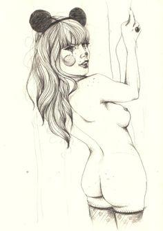 Minnie by Elena-Greta Apostol, via Behance