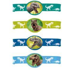 Jurassic World Rubber Bracelets