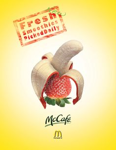 McDonalds Ads by Kyle Bridgman, via Behance