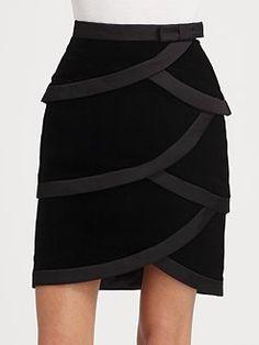 Valentino - Velvet Skirt