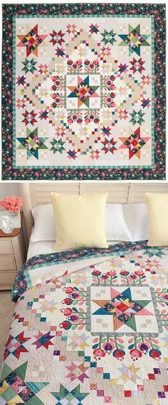 COLOR OF LOVE BLOCK OF THE MONTH QUILT