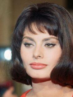 Sophia Loren, beautiful color photo of her