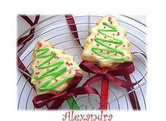 Χριστουγεννιάτικα μπισκότα βουτύρου Christmas Art, Christmas Cookies, Biscuits, Cookie Recipes, Food And Drink, Sweets, Baking, Desserts, Blog