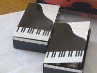 Piano keyboard gift boxes Diy Gift Box, Diy Box, Diy Gifts, Gift Boxes, Handmade Gifts, Happy Birthday Gifts, Diy Birthday, Music Furniture, Gift For Music Lover