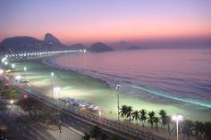 Copacabana at 5 am