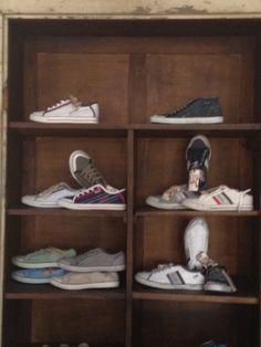 SHOES in a wardrobe!
