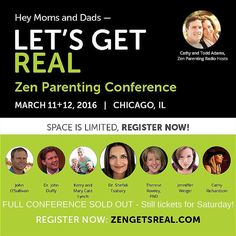 Full conference SOLD OUT! Still tix for Saturday! www.zengetsreal.com #ZPRBeReal