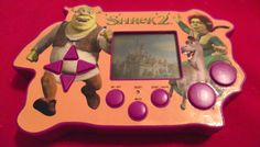 Shrek 2 Handheld Video Game in Ashley_Marie's Garage Sale in Delta , British Columbia for $4.00. Shrek 2 hand-held Video Game (needs batteries).  Help Shrek rescue Fiona and Donkey through levels of gaming fun!