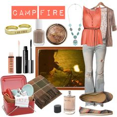 10 Picnics + What to Wear on Them: Camp Fire Picnic