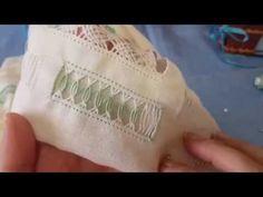 Vídeo 33 vainica hojas de guipur 2 - YouTube