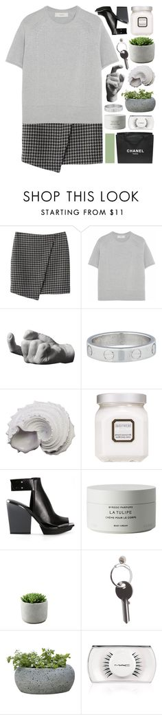 """""""hey stephen"""" by pheachy ❤ liked on Polyvore featuring Pringle of Scotland, Areaware, Cartier, Urban Trends Collection, Laura Mercier, 3.1 Phillip Lim, Byredo, Maison Margiela, Campania International and Chanel"""