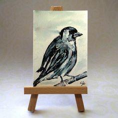 Sparrow Bird ACEO £6.00