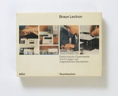 Braun Lectron Grundsystem, Designed by Dieter Rams and Jürgen Greubel, 1967