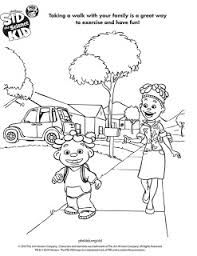 Connect the Dots Sid the Science Kid Coloring Pages for Kids
