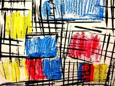 Art to the Moon & Back: Mondrian Madness