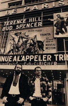Terence Hill and Bud Spencer