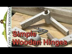 Wooden Diy, Wooden Boxes, Wooden Hinges, Popsicle Stick Houses, Backyard Storage, Strap Hinges, Wood Joints, Small Wood Projects, Cool Tools