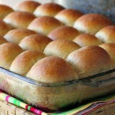 Soft 100% Whole Wheat Rolls recipe