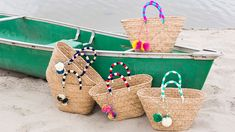 16 Gloriously Summery Straw Bags | StyleCaster