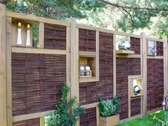 Short Fence, Pergola Patio, Wisteria, Vines, Outdoor Structures, House, 3d, Mounting Brackets, Home Decor