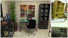 Corner Desk, Furniture, Home Decor, Arquitetura, Interiors, Corner Table, Decoration Home, Room Decor, Home Furnishings